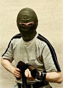 tarcza  strzelecka – terrorysta