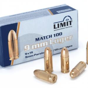 Amunicja 9mm Luger 8g/ 124grs FMJ (9×19)